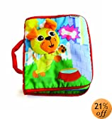 Lamaze Peek-A-Boo Puppy Cloth Book (Discontinued by Manufacturer)