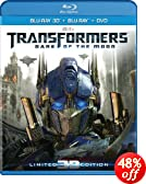 Transformers: Dark of the Moon (Four-Disc Combo: Blu-ray 3D / Blu-ray / DVD)
