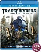 Transformers: Dark of the Moon (Four-Disc Combo: Blu-ray 3D / Blu-ray / DVD)