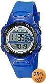 Timex Women's T5K596 1440 Blue Resin Digital Watch