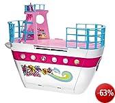 Mattel X3209 - Barbie Party-Kreuzfahrtschiff, zusammenklappbar, mit viel Zubehör