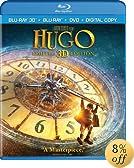 Hugo (Blu-ray 3D + Blu-ray + DVD + Digital Copy)