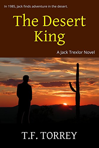 [ Cover of The Desert King: A Jack Trexlor Novel]