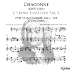 Chaconne (Arranged for Guitar - BWV 1004) by…