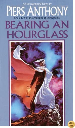 TBearing an Hourglass (Incarnations of Immortality Book 2)