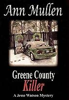 Greene County Killer (A Jesse Watson…