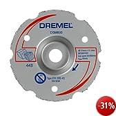 Dremel Mehrzweck-Gerad-Karbid-Trennscheibe DSM600, 77 mm