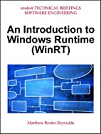 An Introduction to Windows Runtime (WinRT)…