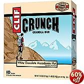 Clif Crunch Granola Bar, White Chocolate Macadamia, 5 Two-Bar Pouches