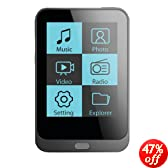 Coby MP820-8GBLK 8 GB 1.8-Inch Video MP3 Player with FM Radio (Black) (Discontinued by manufacturer)