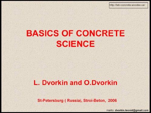 basics-of-concrete-science-optimum-design-of-concrete-mixtures