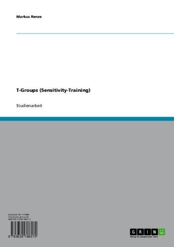 t-groups-sensitivity-training-german-edition