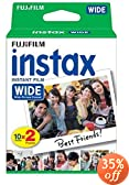 Fujifilm Instax Wide Instant Film 2 Twin Pack- 40 prints