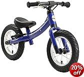 bike*star 30.5cm (12 Inch) Kids Child Learner Balance Beginner Run Bike Sport - Colour Blue
