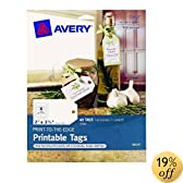 Avery Print-to-the-Edge Printable Tags,  2 x 3.5-Inches, Pack of 40 (22812)