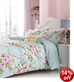 Catherine Lansfield Canterbury Quiltset - Multicolour - Double