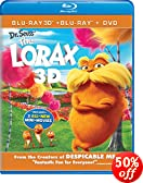Dr. Seuss' The Lorax (Blu-ray 3D + Blu-ray + DVD + Digital Copy + UltraViolet)