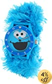 Sesame Street Kids' SW4930CM Cookie Monster Blue Link Slap Watch