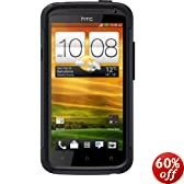 Otterbox Commuter Case HTC One X - Retail Packaging - Black