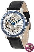 Stuhrling Original Men's 169.33U52 Classic Delphi Dauphin Automatic Skeleton Silver Tone Dial Watch