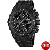 "Festina Tour Chrono Bike 2012 Limited Edition Herren Uhr ""All Black"" F16602/1"