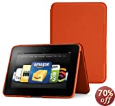 "Amazon Kindle Fire HD 8.9"" Standing Leather Case, Persimmon (will not fit HDX models)"