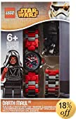 Lego Kids' 9004315 Star Wars Watch with Darth Maul Mini-Figure
