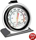 Andrew James Precision Oven Thermometer Hang Or Stand On Oven Shelves