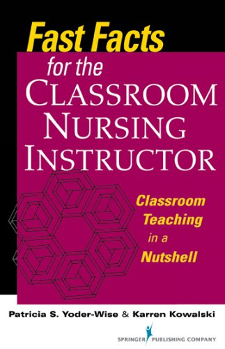 fast-facts-for-the-classroom-nursing-instructor-classroom-teaching-in-a-nutshell-volume-1-fast-facts-springer