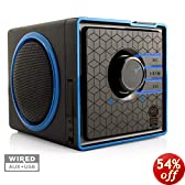 GOgroove SonaVERSE BX Portable Stereo Speaker System w/ Rechargeable Battery & 3.5mm Aux Port - Works With Apple , Samsung , HTC , Sony and More Smartphones , Tablets , MP3 Players , Laptops & More Devices
