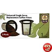 Medelco Coffee Filter Reusable, Universal Steel