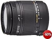 Sigma 18-250 mm F3,5-6,3 DC Macro OS HSM Objektiv (62 mm Filtergewinde) f�r Canon Objektivbajonett