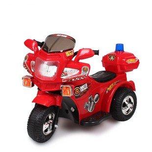 群兴 儿童电动车 三轮摩托车 童车 儿童警车 电玩车 国家3c认证 安全
