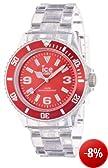 Ice-Watch Unisex - Armbanduhr Ice Pure Analog Quarz Kunststoff PU.RD.U.P.12