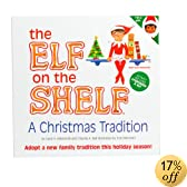 The Elf on the Shelf: A Christmas Tradition with a girl Scout Elf with brown skin/brown eyes