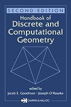 Handbook of Discrete and Computational…