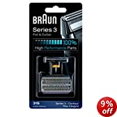 Braun 31S Replacement Foil and Cutter Cassette Multi Silver BLS Combi Pack