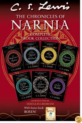 TThe Chronicles of Narnia Complete 7-Book Collection with Bonus Book: Boxen