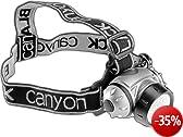 Black Canyon Stirnleuchte Mit Verstellbarer Neigung 21 Leds, schwarz, BC7004