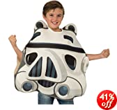 Angry Birds Star Wars Stormtrooper Child's Costume Tunic, One Size