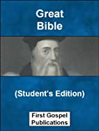 Great Bible (Student's Edition) (Historic…