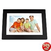 ViewSonic VFD1028W-11 10.1-Inch Digital Photo Frame Features High Resolution 1024x600 (Black)