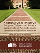 A Generation in Transition: Religion,…