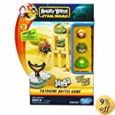 Angry Birds Star Wars Fighter Pods Jenga Tatooine Battle Game