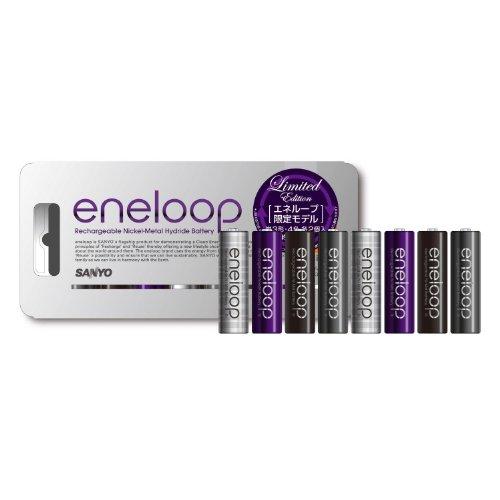 Amazon.co.jp: SANYO eneloop 限定単3形8本パック HR-3UTGB-8U: パソコン・周辺機器