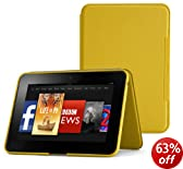 "Amazon Kindle Fire HD 8.9"" Standing Leather Cover, Honey Yellow (will only fit Kindle Fire HD 8.9"")"