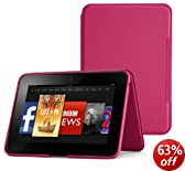 "Amazon Kindle Fire HD 8.9"" Standing Leather Cover, Fuchsia (will only fit Kindle Fire HD 8.9"")"