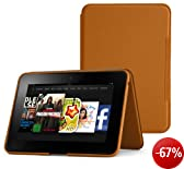 Amazon Kindle Fire HD 8.9 Lederh�lle [aufstellbar], Hellbraun [nur geeignet f�r Kindle Fire HD 8.9 (2. Generation)]
