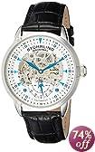 Stuhrling Original Men's 133.33152 Executive Automatic Skeleton Silver Dial Watch