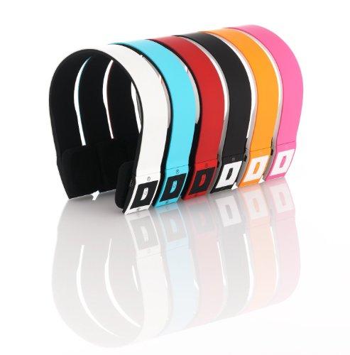 deleyCON Sport-Bluetooth Kopfhörer Headset mit Mikrofon. Optimal für den Betrieb mit Handy, PC, Tablet uvm